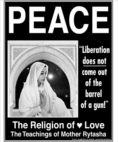 Mother Rytasha - Peace Poster