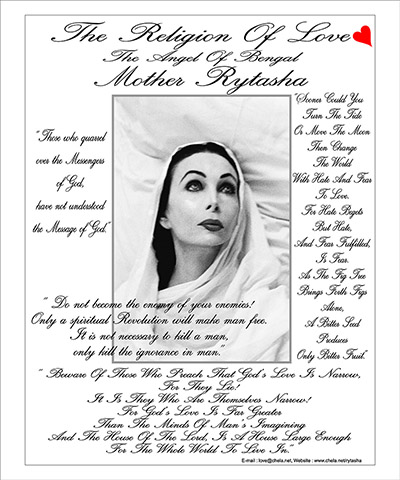Mother Rytasha - The Religion of Love Poster